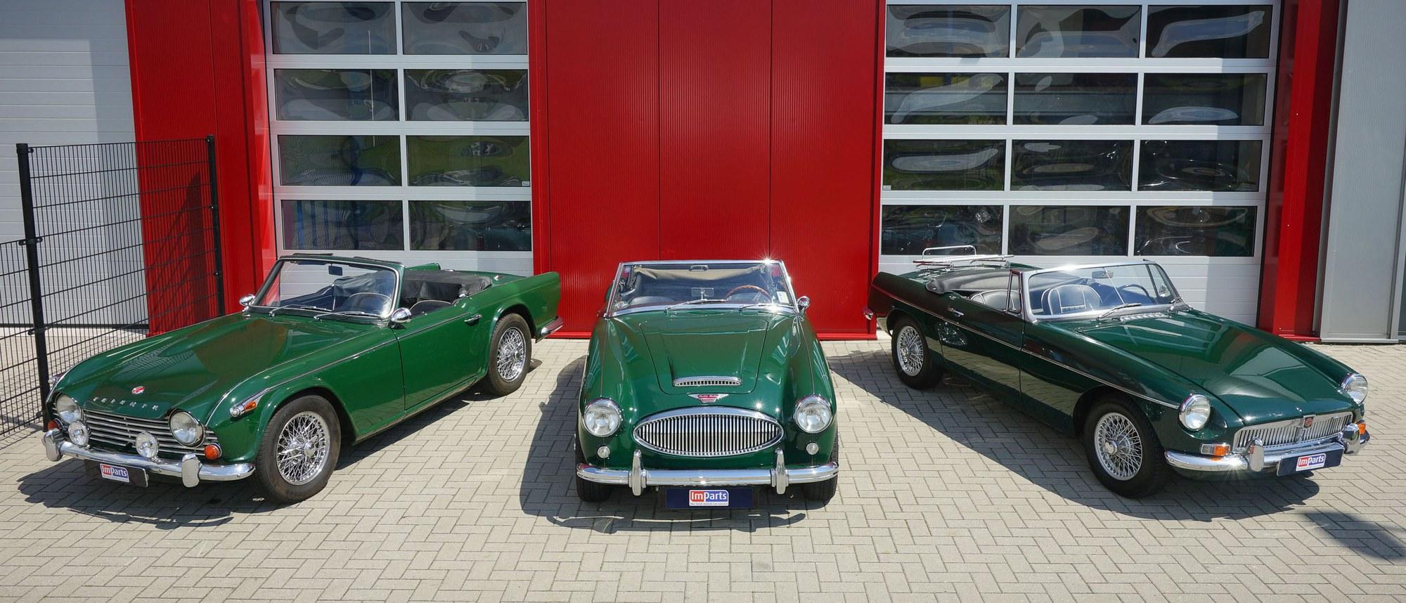 Teile fur Triumph und MG