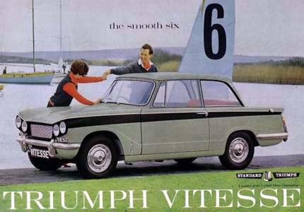 Triumph Vitesse Teile